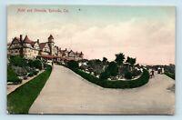 Redondo Beach, CA - c1907 HAND COLORED RIEDER POSTCARD OF HOTEL & GROUNDS