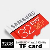 Samsung EVO+ 80MB/S TF Flash MicroSD Memory Card 32GB Class10 UHS-I With Adapter