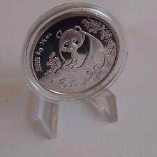 China 5 Yuan 1993 Panda Silber Gedenkmünze st