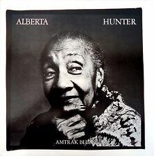 Alberta Hunter-Amtrak Blues-LP-1980 CBS Records Australian issue-SBP 237509