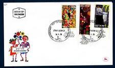 ISRAEL - ISRAELE - 1973 - BUSTA - Disegni di bambini - FDC