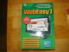 Avanquest WebEasy 7 Professional Web Design Software