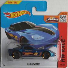 "HOT Wheels-Chevy Corvette c6 blaumet. ""HW Race"" Nuovo/Scatola Originale"