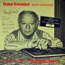 """7"""" PETER KREUDER & URSULA MAY Revue: Wedding Mary EP limitiert und signiert 1976"""