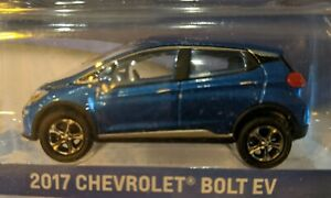 Greenlight Chevrolet Chevy Bolt EV 1:64 Diecast Car BLUE