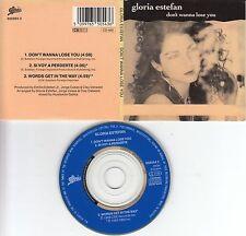 Gloria Estefan CD-SINGLE DON'T WANNE LOSE YOU  ( 3inch )