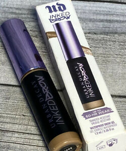 NEW Urban Decay Inked Brow 60 Hour Wear Waterproof Brow Gel Full Size Taupe Trap