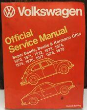 Volkswagen Beetle, Super Beetle, & Karmann Ghia Official Service Manual 1970-79