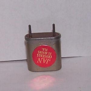 Collins Vintage Ham Radio Transmitter Crystals