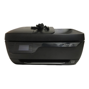 HP OfficeJet 3830 All-In-One InkJet Printer Tested Working Needs Ink USB Bundle