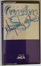 The Crusaders...Rhapsody And Blues........Cassette Album
