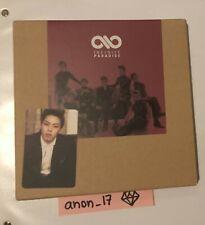 Infinite Paradise Album + Photocard Dongwoo
