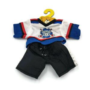 BABW Build A Bear ICE HOCKEY Sports Outfit Uniform Clothing Teddy Clothes Skates
