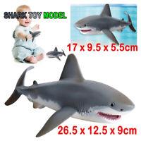 26.5cm Lifelike Shark Shaped Kids Baby Toy Realistic Simulation Animal Model