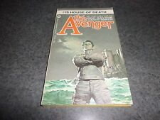 """The Avenger """"House of Death"""" By:Kenneth Robeson #15 - Warner"""