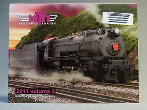 MTH 2011 VOLUME 2 TRAIN CATALOG book manual publication advertisement steam