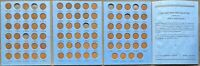 USA Lincoln Wheat Cent Sammlung in Album 82 Münzen 1909 VDB - 1940 P D S #26252