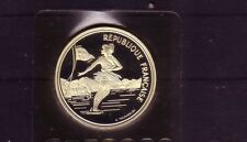 France 100 fr patinage artistique Argent Albertville 1992 (Interne: olymunze: 2)