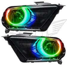 ORACLE 10-14 FORD MUSTANG PRE-ASSEMBLED RGB HALO HEADLIGHTS (NON-HID) COLORSHIFT