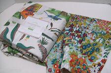 Pottery Barn Evie Reversible Butterfly Mini Floral King Duvet Cover 2 King Shams