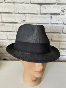Stetson Men's Size L-XL Fedora Hat. Charcoal Color. New with tags