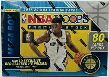 Panini NBA Hoops Premium Stock 2019-20 Mega Box - 80 Cards (10 Packs, 8 Cards per Pack)