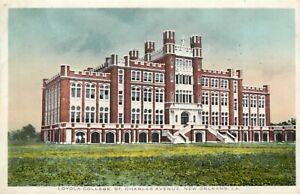 LA Louisiana New Orleans Loyola College Kress & Co ca 1915 Postcard