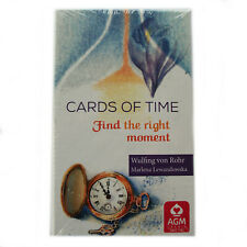 Cards of Time Oracle by by Wulfing von Rohr 33 Cards Deck with Instructions