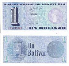 VENEZUELA BILLETE 1 BOLIVAR 1989 PICK 68