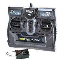 6 Channel Transmitter Carson Reflex Stick 2 RS2 2.4GHz For Trucks Tanks & Boats