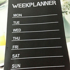 Week Planner Chalkboard Vinyl Stickers Office Living Room Decoration Note LabelG