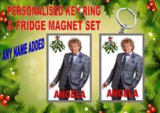 Asta Stewart NATALE PORTACHIAVI & Magnete del frigorifero Set regalo
