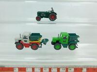 BK41-0,5# 3x Wiking H0/1:87 Modell: MB Trac + Bulldog/Traktor Deutz 38 d, NEUW