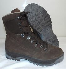 BROWN MEINDL SUEDE HIGH LIABILITY DESERT COMBAT BOOTS - British Army Issue