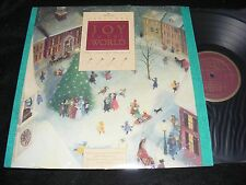 Hallmark JOY TO THE WORLD Christmas Lp In Shrinkwrap 1988 Placido Domingo NM!