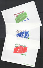 Mali 1980 EPREUVE DE LUXE PROOF Moscow Olympic Games Football Horse sailing