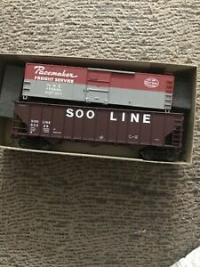 Athearn Trains Soo Line, Hopper Car, 60239, Pacemaker Freight Car. Mint
