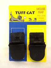 2 X Resistente mouse traps Auto la configuración del ratón Splatter-roedores Cuidado