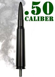 50 Caliber Bullet Aluminum Antenna - Fits: Freightliner Cascadia
