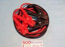 FIAT 500 F/L/R CAVI BATTERIA PROFESSIONALI 400 AMPERE 3,5 MT ACCUMULATORE 12VOLT