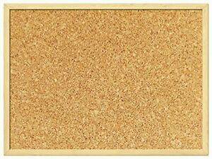 CORK BOARD PIN NOTICE BOARD - OFFICE MEMO SCHOOL WITH FREE  PUSH PIN BOARD