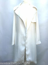 ZARA WOMENS TRENCH MAC COAT SIZE MEDIUM