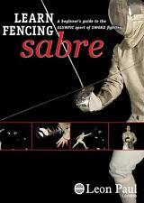 En savoir épée escrime-Instructional sabre DVD-Leon Paul