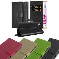 Funda de móvil para HTC Desire 12 cover case bolsa estuche luxury liso