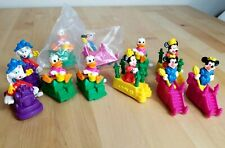 Burger King Kids Club Meal Toys Wind Up Minnie Mouse Donald Duck Mickey 1990 Lot