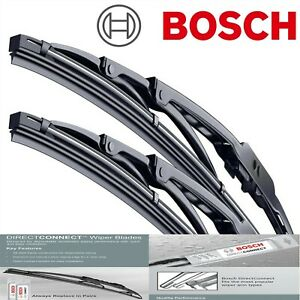 Bosch Wiper Blades Direct Connect for 2009-2010 Acura TSX Left Right Set of 2