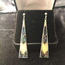Colorful Ear Rings Ladies Pierced Long