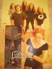 THE GATHERING  /  IRON MAIDEN  __  Plakat  ___ 40 cm x 57 cm _ OLD POSTER