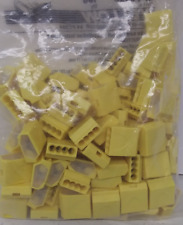 Lot of 100 Preferred Industries Yellow Push-in Wire Connector 4 Port HP-PC450