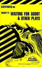 Vtg Waiting for Godot and Other Plays By Beckett by Cliff Notes Review 1980 PB